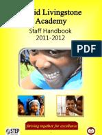 DL Staff Handbook, 2011-2012