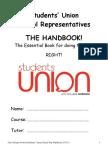 CCNSU - Class Rep Handbook FINAL