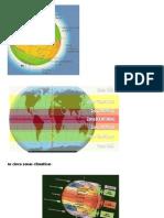 As cinco zonas climáticas