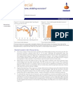Eurozóna blízko recese a vývoj ekonomiky v posledních týdnech (dokument v AJ)