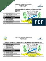 Conselhos Membros Titulares Site