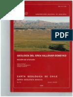 Geologia Vallenar Domeyko