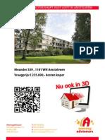 3D Brochure Meander 539 Te Amstelveen
