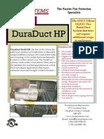DuraSystems - DuraDuct HP Brochure