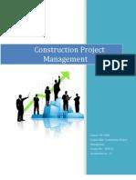Copy of Construction Project Management