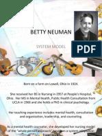 Betty Neuman System Model