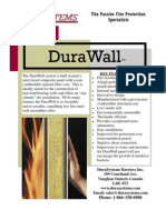 DuraSystems - DuraWall Brochure