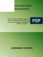 HRM Group 4 Assessment Centres