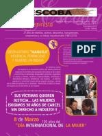 LA ESCOBA - Boletina Feminista, SEGUNDA ÉPOCA AÑO 3 Nº 8