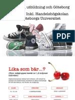 Ungdomar, utbildning och Göteborg