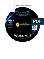 Microsoft Windows 7 OEM en 48 in 1 for All Laptop