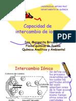 Capacidad de Inter Cam Bio de Iones