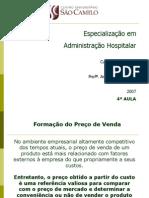 4a Aula Custos Hospital Ares Turma 27A