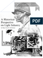 A HISTORICAL PERSPECTIVE ON LIGHT INFANTRY