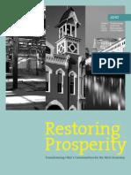Restoring Prosperity Report
