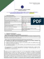 Formato Informe Semestral 2011en Proceso