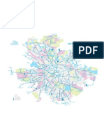 Harta RATB Autobuze