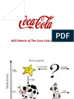 bcg matrix coca cola