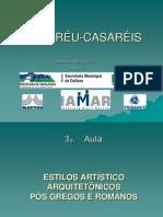 ESTILOS ARTÍSTICO ARQUITETÔNICOS