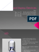 Power Point Presentation on LED