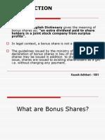 Anil Final Bonus Shares