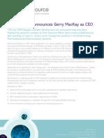 BioOutsource Gerry MacKay