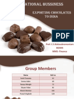 International Bussiness Choco Ritesh