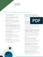 BioOutsource Publications