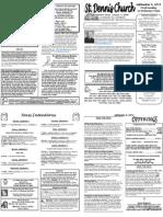 September 4 Bulletin