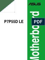 Asus P7P55D-LE Manual