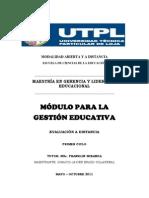 TECNOLOGÍA EDUCATIVA PARA LA GESTIÓN - PREGUNTA 3