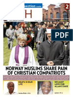 NORWAY MUSLIMS SHARE PAIN OF CHRISTIAN COMPATRIOTS