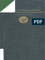 The History of Nursing in North Carolina