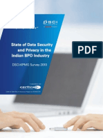 DSCI-KPMG Survey 2010 - State of Data Security and Privacy in Indian BPO Industry