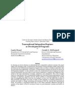 Transnational Integration Regimes as Development Programs (PCEE 67, November 2008) Laszlo Bruszt & Gerald A. McDermott.