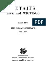 The Indian Struggle by Subhash Chandra Bose
