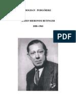 J H  Retinger 1888-1960