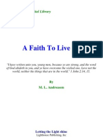 M. L. Andreasen - A Faith to Live By