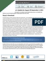 Superintendent Deasy Newsletter for Aug. 29-Sept. 2