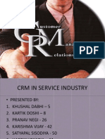 Crm in Service Industry