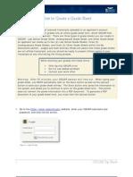 Create a Grade Sheet