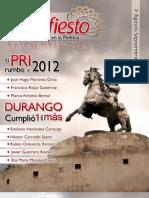 Revista Manifiesto Agosto Septiembre