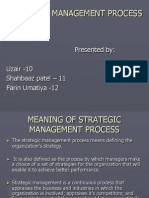 Strtegic Management Process