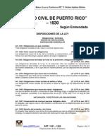Codigo Civil PR (Parte)