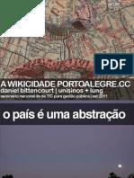 Wikicidade   Secop 2011