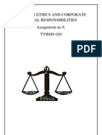 Business Ethics and Corporate Social Responsibilities