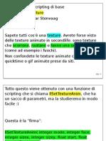 AnimazioneTexture&GIMP Trasparenza
