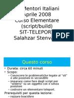 CorsoBaseSit&Teleport
