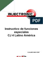 Instructivo Especiales CJ 4 LA