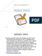 Tutorial Google Docs.